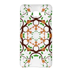 Floral Tree Leaf Flower Star Samsung Galaxy A5 Hardshell Case  by Alisyart