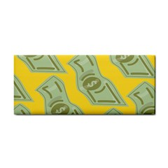 Money Dollar $ Sign Green Yellow Cosmetic Storage Cases by Alisyart
