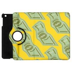 Money Dollar $ Sign Green Yellow Apple Ipad Mini Flip 360 Case by Alisyart