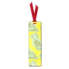 Money Dollar $ Sign Green Yellow Small Book Marks by Alisyart