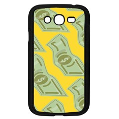 Money Dollar $ Sign Green Yellow Samsung Galaxy Grand Duos I9082 Case (black)