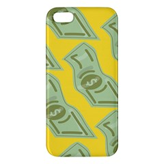 Money Dollar $ Sign Green Yellow Iphone 5s/ Se Premium Hardshell Case by Alisyart