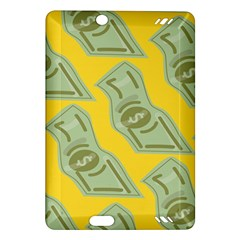 Money Dollar $ Sign Green Yellow Amazon Kindle Fire Hd (2013) Hardshell Case by Alisyart