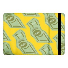 Money Dollar $ Sign Green Yellow Samsung Galaxy Tab Pro 10 1  Flip Case by Alisyart