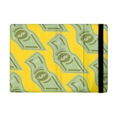 Money Dollar $ Sign Green Yellow Ipad Mini 2 Flip Cases by Alisyart