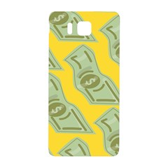 Money Dollar $ Sign Green Yellow Samsung Galaxy Alpha Hardshell Back Case