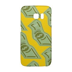 Money Dollar $ Sign Green Yellow Galaxy S6 Edge by Alisyart
