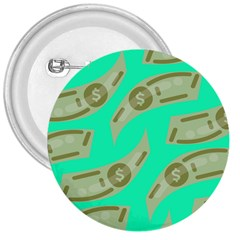 Money Dollar $ Sign Green 3  Buttons by Alisyart