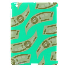 Money Dollar $ Sign Green Apple Ipad 3/4 Hardshell Case (compatible With Smart Cover) by Alisyart
