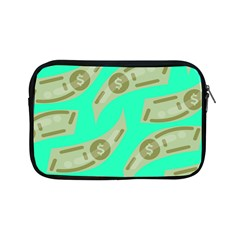 Money Dollar $ Sign Green Apple Ipad Mini Zipper Cases by Alisyart