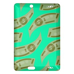 Money Dollar $ Sign Green Amazon Kindle Fire Hd (2013) Hardshell Case by Alisyart