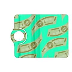 Money Dollar $ Sign Green Kindle Fire Hd (2013) Flip 360 Case by Alisyart