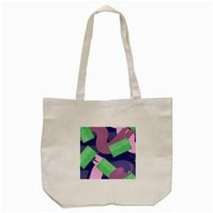 Money Dollar Green Purple Pink Tote Bag (cream) by Alisyart