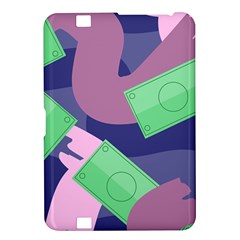 Money Dollar Green Purple Pink Kindle Fire Hd 8 9  by Alisyart