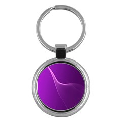 Purple Line Key Chains (round)  by Alisyart