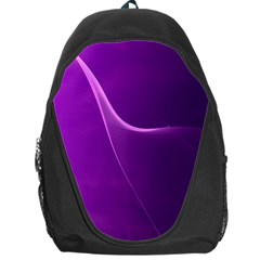 Purple Line Backpack Bag by Alisyart
