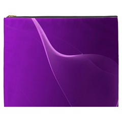 Purple Line Cosmetic Bag (xxxl)  by Alisyart