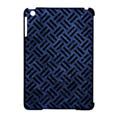 Woven2 Black Marble & Blue Stone (r) Apple Ipad Mini Hardshell Case (compatible With Smart Cover) by trendistuff