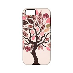 Tree Butterfly Insect Leaf Pink Apple Iphone 5 Classic Hardshell Case (pc+silicone) by Alisyart