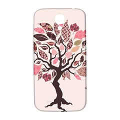 Tree Butterfly Insect Leaf Pink Samsung Galaxy S4 I9500/i9505  Hardshell Back Case by Alisyart