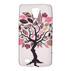 Tree Butterfly Insect Leaf Pink Galaxy S4 Active by Alisyart