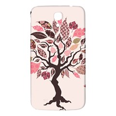 Tree Butterfly Insect Leaf Pink Samsung Galaxy Mega I9200 Hardshell Back Case