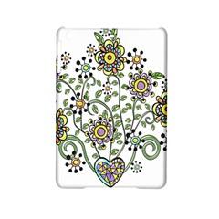 Frame Flower Floral Sun Purple Yellow Green Ipad Mini 2 Hardshell Cases by Alisyart
