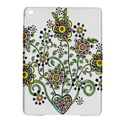 Frame Flower Floral Sun Purple Yellow Green Ipad Air 2 Hardshell Cases by Alisyart