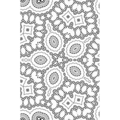 Scope Random Black White 5 5  X 8 5  Notebooks by Alisyart