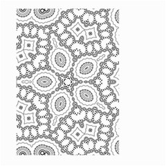 Scope Random Black White Large Garden Flag (two Sides) by Alisyart