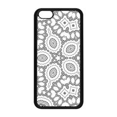 Scope Random Black White Apple Iphone 5c Seamless Case (black) by Alisyart