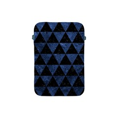Triangle3 Black Marble & Blue Stone Apple Ipad Mini Protective Soft Case by trendistuff