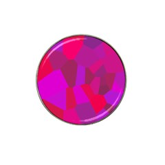 Voronoi Pink Purple Hat Clip Ball Marker (10 Pack) by Alisyart
