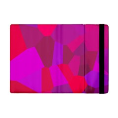Voronoi Pink Purple Apple Ipad Mini Flip Case by Alisyart