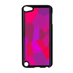 Voronoi Pink Purple Apple Ipod Touch 5 Case (black) by Alisyart