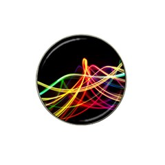Vortex Rainbow Twisting Light Blurs Green Orange Green Pink Purple Hat Clip Ball Marker (10 Pack) by Alisyart