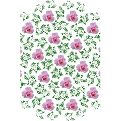 Rose Flower Pink Leaf Green 5 5  X 8 5  Notebooks by Alisyart