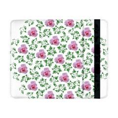 Rose Flower Pink Leaf Green Samsung Galaxy Tab Pro 8 4  Flip Case by Alisyart