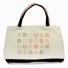 Alphabeth Rainbow Color Basic Tote Bag by Alisyart