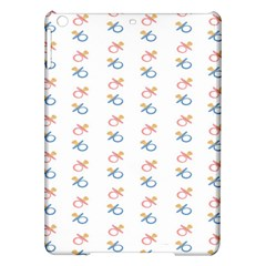 Baby Pacifier Pink Blue Brown Kids Ipad Air Hardshell Cases by Alisyart