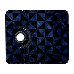 Triangle1 Black Marble & Blue Stone Samsung Galaxy S  Iii Flip 360 Case by trendistuff