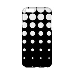 Circle Masks White Black Apple Iphone 6/6s Hardshell Case by Alisyart