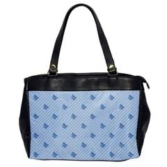 Blue Butterfly Line Animals Fly Office Handbags by Alisyart