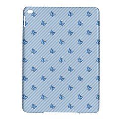 Blue Butterfly Line Animals Fly Ipad Air 2 Hardshell Cases by Alisyart