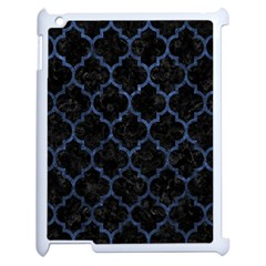 Tile1 Black Marble & Blue Stone Apple Ipad 2 Case (white) by trendistuff