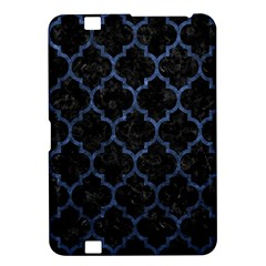 Tile1 Black Marble & Blue Stone Kindle Fire Hd 8 9  Hardshell Case by trendistuff