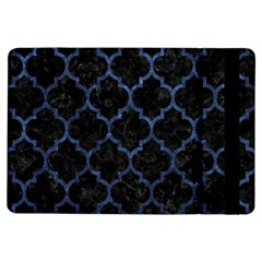 Tile1 Black Marble & Blue Stone Apple Ipad Air Flip Case by trendistuff