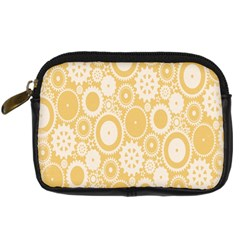 Wheels Star Gold Circle Yellow Digital Camera Cases by Alisyart