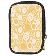 Wheels Star Gold Circle Yellow Compact Camera Cases by Alisyart