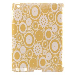 Wheels Star Gold Circle Yellow Apple Ipad 3/4 Hardshell Case (compatible With Smart Cover) by Alisyart